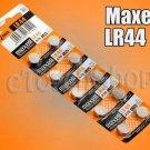 10 Pcs Maxell LR44 AG13 Alkaline 1.5 Volt 1.5 V Battery