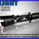 OLIGHT M22 Warrior Cree XM-L2 LED 950 Lm 3 Mo Flishlight