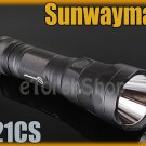 Sunwayman T21CS Cree U3 LED 600LM 16340 18650 Flashlight
