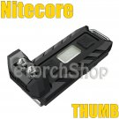 Nitecore Thumb USB Rechargeable Keychain Adjustable angles Flashlight Torch