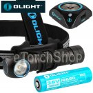 Olight H2R-CW NOVA CREE XHP50 Cool LED Headlight USB 18650 Rechargeable Torch