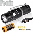 Fenix RC09 Cree LED 550LM 16340 Battery Magnetic Rechargerable Flashlight Torch