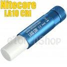Nitecore LA10-CRI-Blue Nichia LED 85LM AA Magnetic Camp Lantern Flashlight Torch