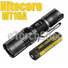 Nitecore MT10A Cree L2 & Red LED 900LM 10Mo W NI14500A Battery Flashlight Torch