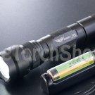 eTorch 502B Set Cree V3 LED W Panasonic NCR18650B PCB USB Charger Flashlight