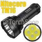 Nitecore TM16 4x Cree L2 LED 4000LM 8Mo 18650 700M Long Range Flashlight Torch