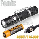 Fenix RC05 Cree LED 300LM 14500 Battery Magnetic Rechargerable Flashlight Torch