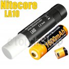 Nitecore LA10 Set Black Lantern Flashlight Torch AA USB Rechargeable Battery