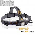 Fenix HP12 Cree L2 LED 900LM 5Mo 18650 CR123A Battery Headlamp Flashlight Torch