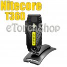 Nitecore T360 Ball Head Free Rotate Clip USB Rechargeable HeadLamp Flashlight