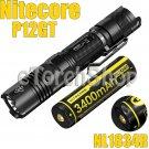 Nitecore P12GT Set Cree V3 LED Flashlight Torch W 1x NL1834R 3400mAh USB Battery