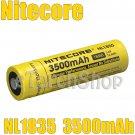 NiteCore 1x NL1835 3500mAh Protected 3.6v 18650 Rechargeable Li-ion Battery
