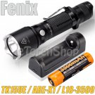 Fenix TK15UE Set 1000LM Flashlight X1 USB Charger 3500mAh 18650 Battery Torch