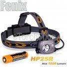 Fenix HP25R Dual Cree LED W 18650 Battery USB Rechargeable Headlamp Flashlight