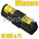 Nitecore F1 USB Li-ion Charger NL1835 3500mAh 18650 Rechargeable Battery