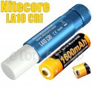 Nitecore LA10-CRI Set Blue Lantern Flashlight Torch AA USB Rechargeable Battery
