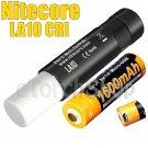 Nitecore LA10-CRI Set Black Lantern Flashlight Torch AA USB Rechargeable Battery