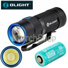 Olight S1R Baton CREE LED Flashlight Torch W RCR123 USB Rechargeable Battery
