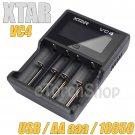 XTAR VC4 USB LED Smart Charger F AA aaa Ni-MH 18650 Li-ion Rechargeable Battery