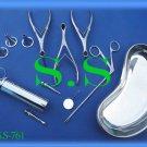 ENT Surgical Instruments Set OF 21 PCS