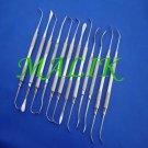 3 Sets Of 12 Sinus Lift Instruments Set Implant Dental Dentistry