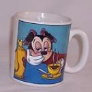 Large Disney Minnie with Hair Curlers Coffee Mug, Price Includes S&H