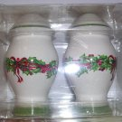 Salt and Pepper Shakers Holiday Celebrations by Christopher Radko, Price Includes S&H