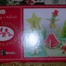 Holiday Cookie Cutters 3D Stand-up Nordic Ware 009808, Price Includes S&H