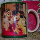 Coffee Mug 1995 Boyd Bears and Friends Newspaper  618307, Price Includes S&H