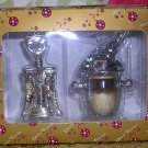 Ice Bucket and Wine Opener Christmas Ornament Dillard's, Price Includes S&H