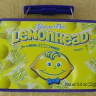 Lemonhead Mini Lunch Box (empty) without BLUE background, Price Includes S&H