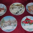Smucker's Collector Series Christmas Plates, Price Includes S&H