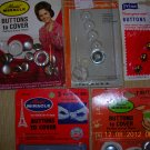 Vintage Cover Button Collection, Price Includes S&H