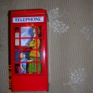 English Phone Booth Bank, Price Includes S&H