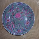 Macau Bowl-- Blue and Pink Birds and Flowers, Price Includes S&H