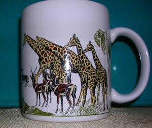 Hallmark Coffee Mug--African Theme, Price Includes S&H
