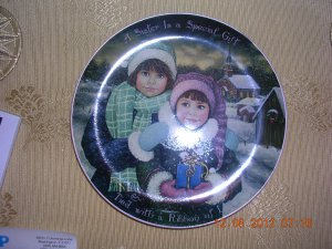 """The Most Special Gift"" Bradford Exchange Plate # 11629A, Price Includes S&H"