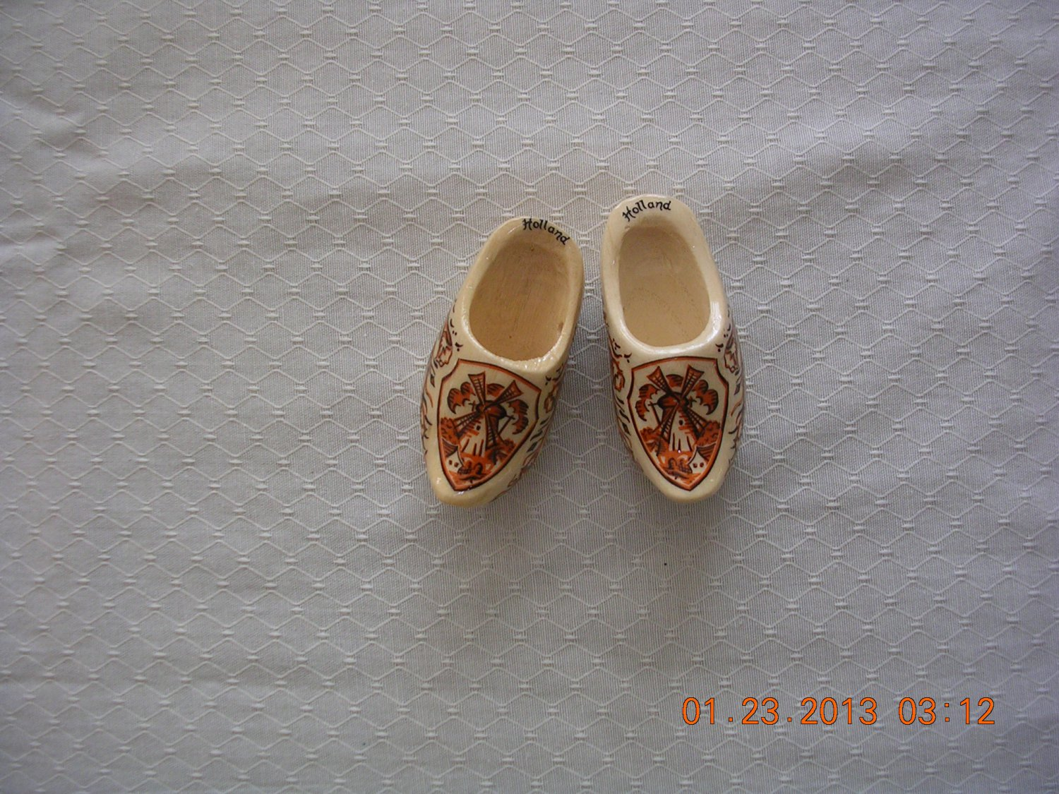 Minature Wooden Shoes From Holland, Price Includes S&H