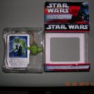 Star Wars Two Piece Ornament Set from 2006--Yoda & Poster, Price Includes S&H
