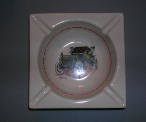 Hyalyn Porcelain Ashtray, Price Includes S&H