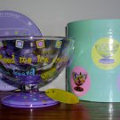 """Lolita Love My Sundae """"Eating for Two """" Hand Painted Sundae Dish, Price Includes S&H"""