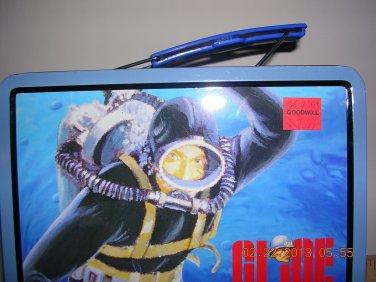 GI Joe Action Sailor 1998 Hasbro Lunch Box, Price Includes S&H