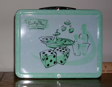 Lucky Brand Lucky You Metal Lunch Box, Price Includes S&H