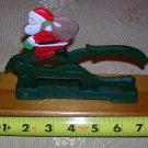 Vintage Cast Iron & Wood Santa Nutcracker, Price Includes S&H