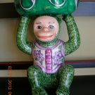 Green Monkey Lucky Bamboo Holder, Price Includes S&H