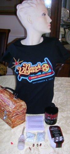 NashVegas tee shirt LADIES MEDIUM--4 in this size, Price Includes S&H