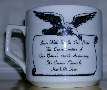Humbolt, TN The Courier-Chronicle Mug, Price Includes S&H