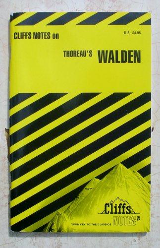 Thoreau's Walden (Cliffs Notes) Price includes S&H