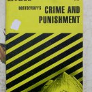CliffsNotes on Dostoevsky's Crime and Punishment, Price Includes S&H