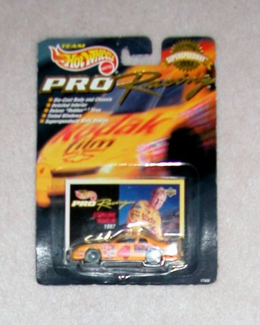 1997 Hot Wheels Pro Racing Sterling Marlin Car, Price Includes S&H
